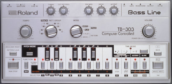 ROLAND TO RE-RELEASE LEGENDARY TB 303 WITHOUT RESONANCE KNOB